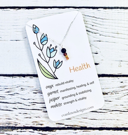 Health Gemstone Necklace