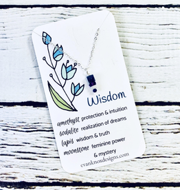 Wisdom Gemstone Necklace
