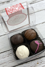 4-pc Chocolate Truffle Sampler from Best Chocolate in Town