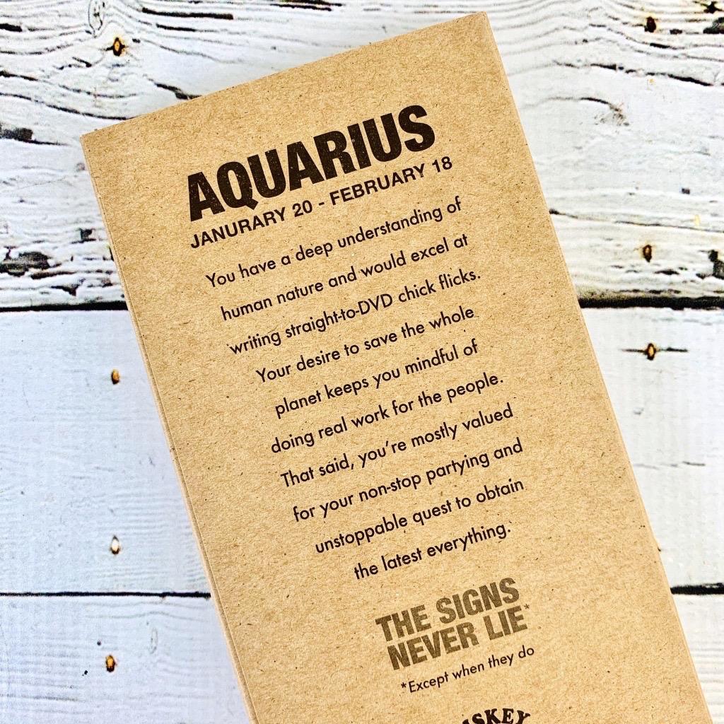 Aquarius Astrology Pencils