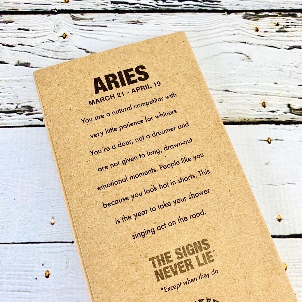 Aries Astrology Pencils