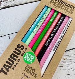 Taurus Astrology Pencils