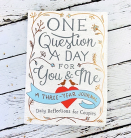 One Question a Day for You & Me<br /> A Three Year Journal for Couples