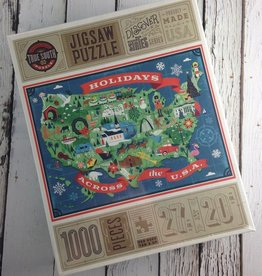 TrueSouthPuzzle Holidays Across the USA Jigsaw Puzzle