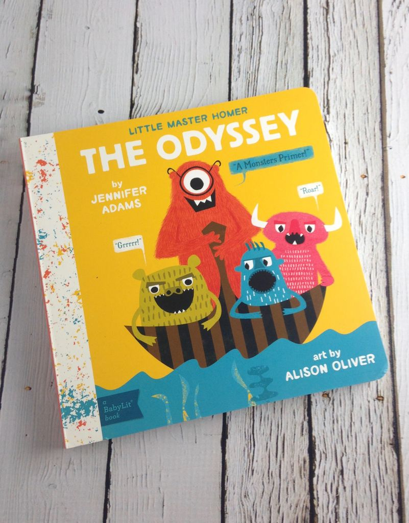 GIBBS SMITH The Odyssey A BabyLit Monsters Primer