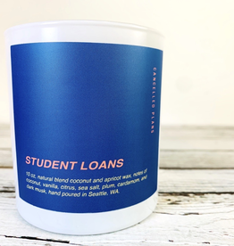 Student Loans Candle