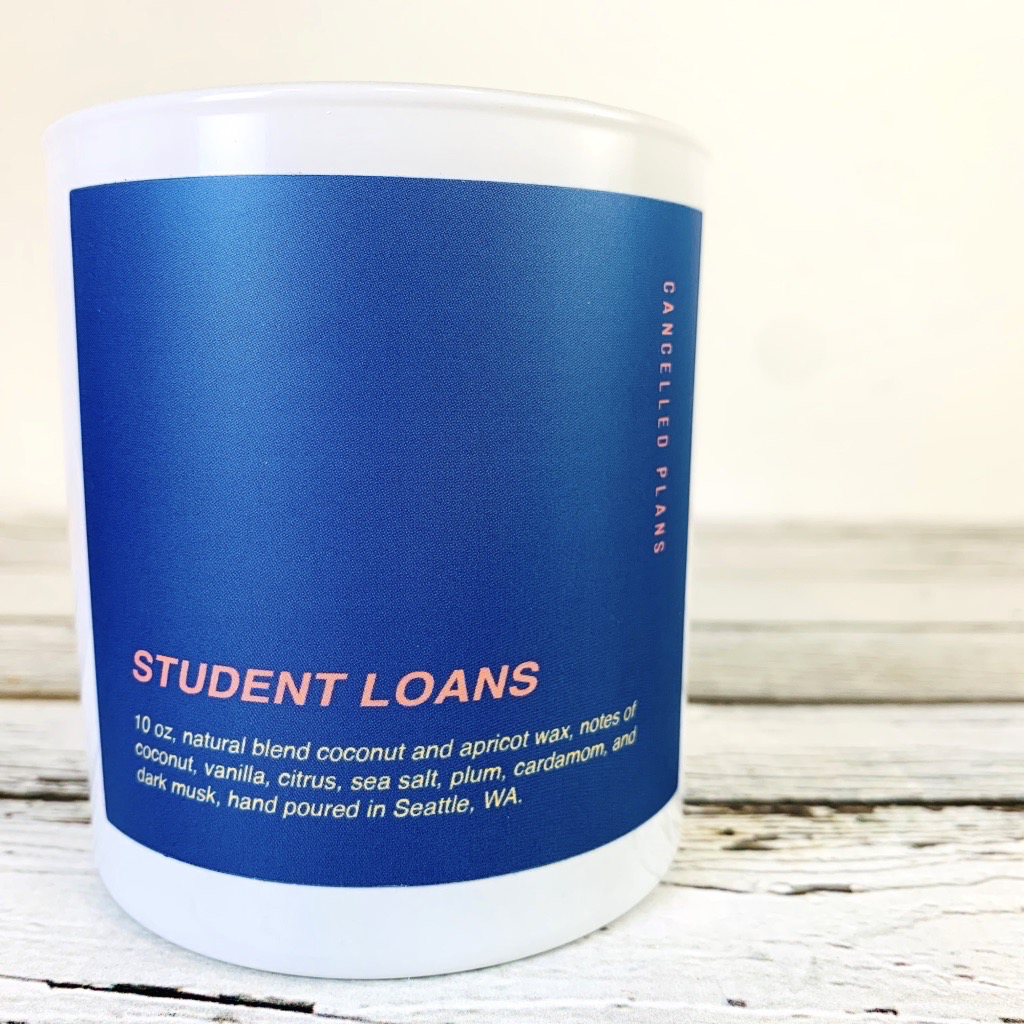 Student Loans Candle 10oz