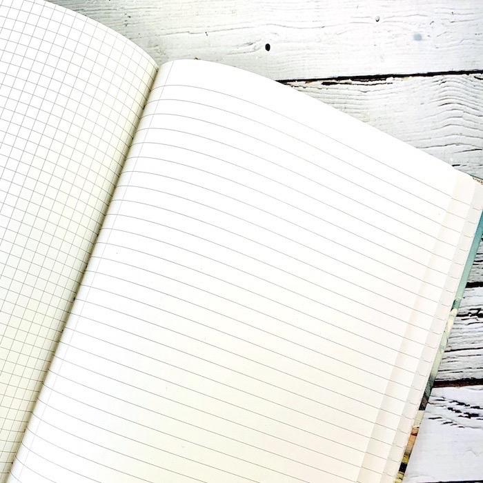 Ascending Regions Hardcover Journal Lined/Grid