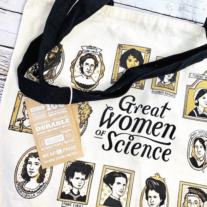 Great Women of Science Tote