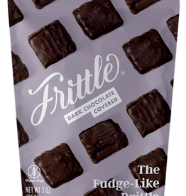 FRITTLE 3oz Bag of Dark Chocolate Coated Frittle