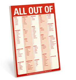 ALL OUT OF: Notepad