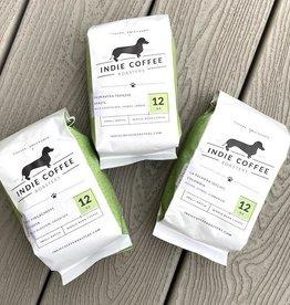 Indie Coffee Roasters, 12 oz Bag of Whole Bean Coffee