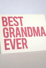 Best Grandma Ever Card