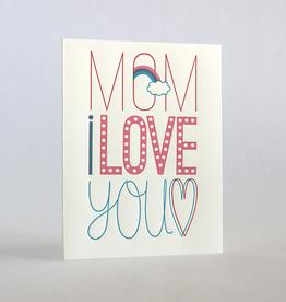 Mom's Fun Fonts Card