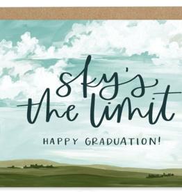 Graduation Sky Card