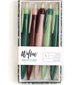 Willow Boxed Set of 5 Pens