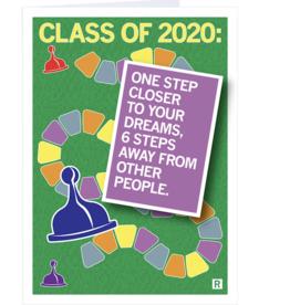 Class of 2020: 6 Steps Away Graduation Card