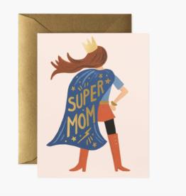 Super Mom Pink Card