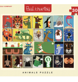 Animal Collage 300 Piece Puzzle