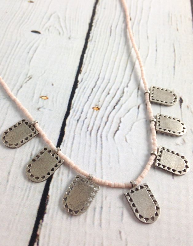 Silver Closed Portal Necklace by Molly M. Designs