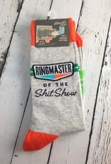 Ringmaster of the Shitshow Men's Socks