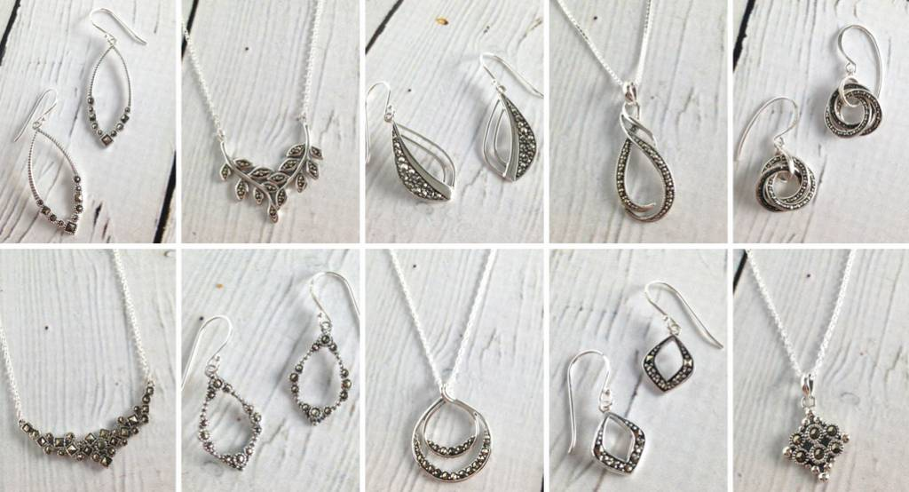 Sparkly & Pretty Marcasite Jewelry