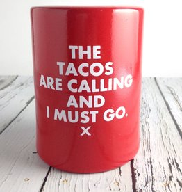 The Tacos are calling and I must go Vintage Can  Holder