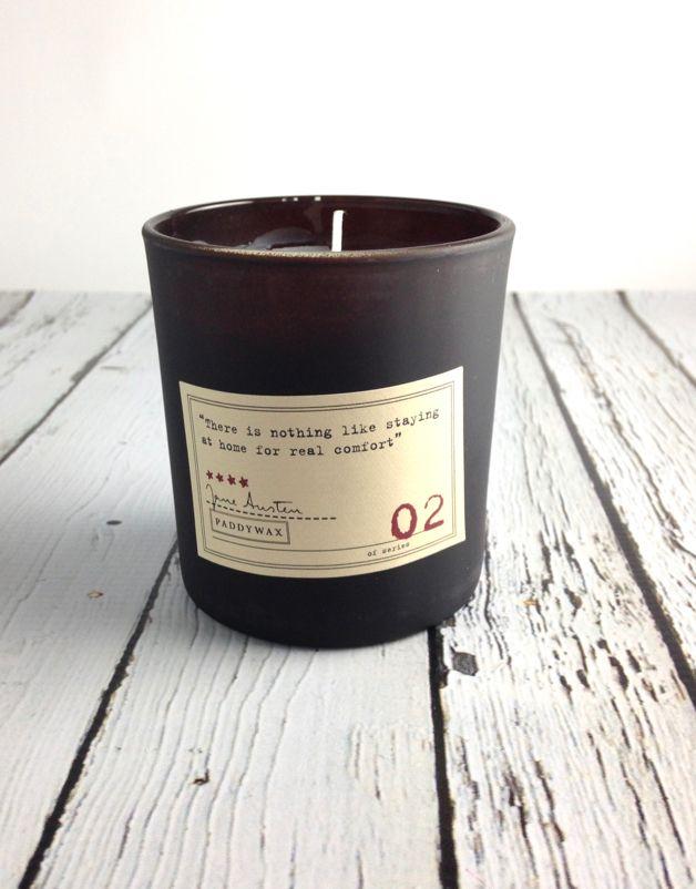 Jane Austen Gardenia + Tuberose + Jasmine Candle