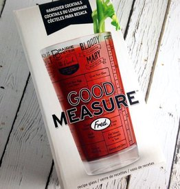 Good Measure Hangover Recipe Glass