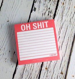 Oh Shit Sticky Notes