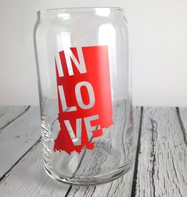 IN LOVE Pint Glass