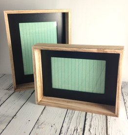 "4"" x 6"" Wood Framed Photo Frame with Black Inside Edge"