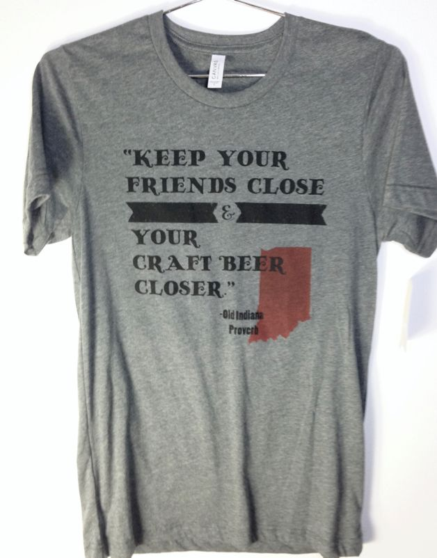 Indiana Craft Beer Tee Shirt
