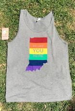 Rainbow We Like You Here Tank