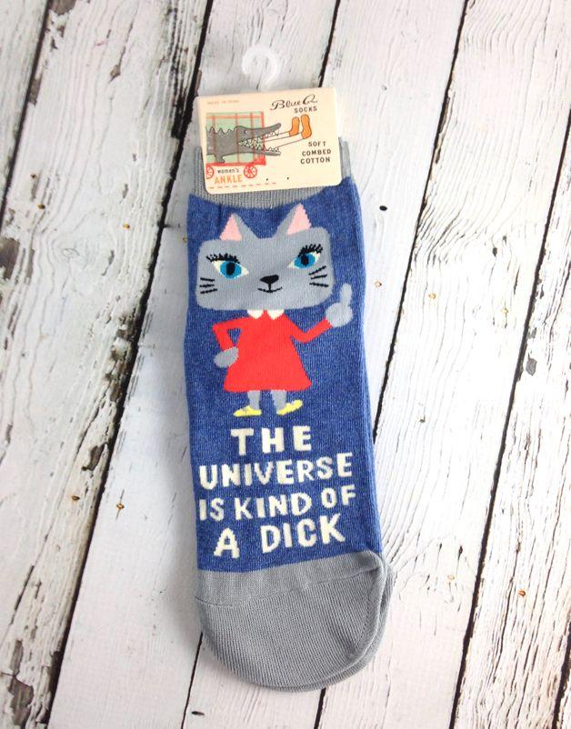 Universe Is A Dick Women's Ankle Socks