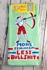More Feminism Dish Towel