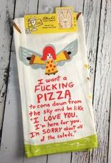 Fucking Pizza Dish Towel