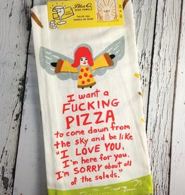 Fucking Pizza Dish Towel