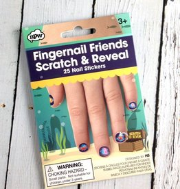 Scratch and Reveal Fingernail Friends