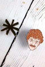 Kurt Vonnegut Enamel Pin
