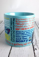 Mister Rogers Sweater Changing Mug - Silver in the City
