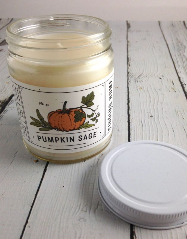Pumpkin Sage 7.5 oz Candle