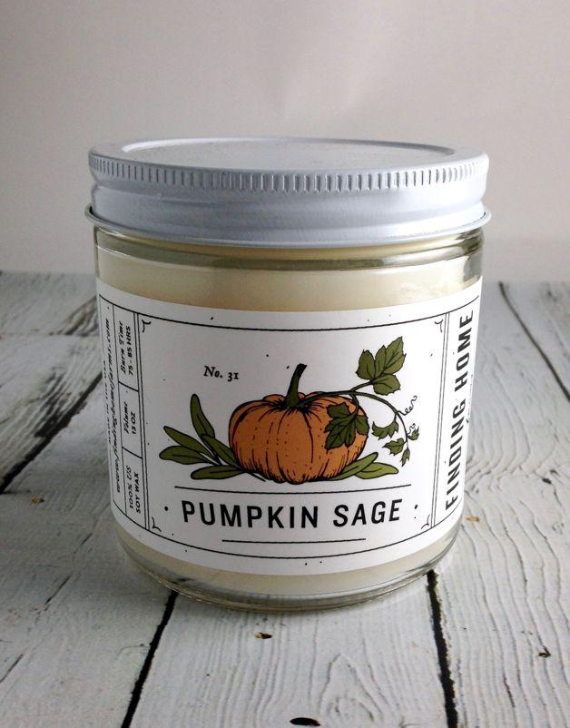 Pumpkin Sage 13 oz Candle