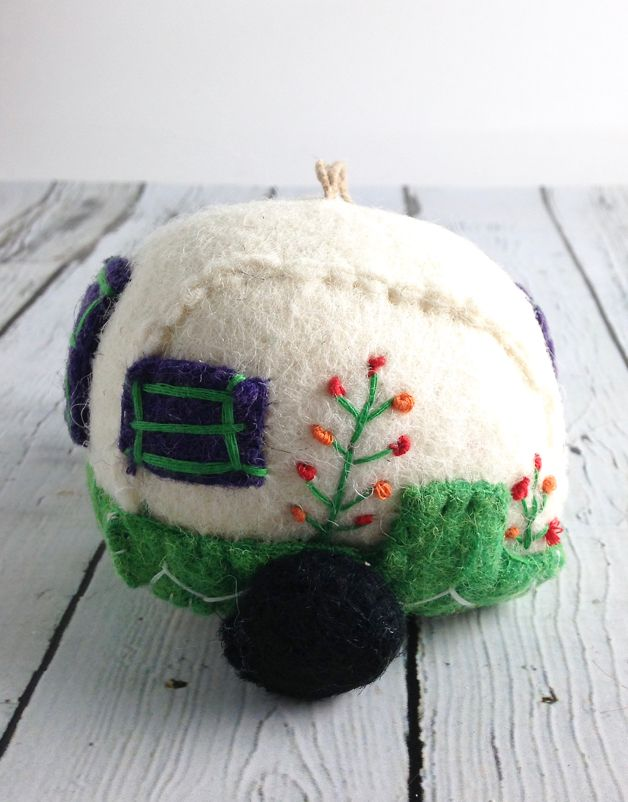Cozy Camper Ornament