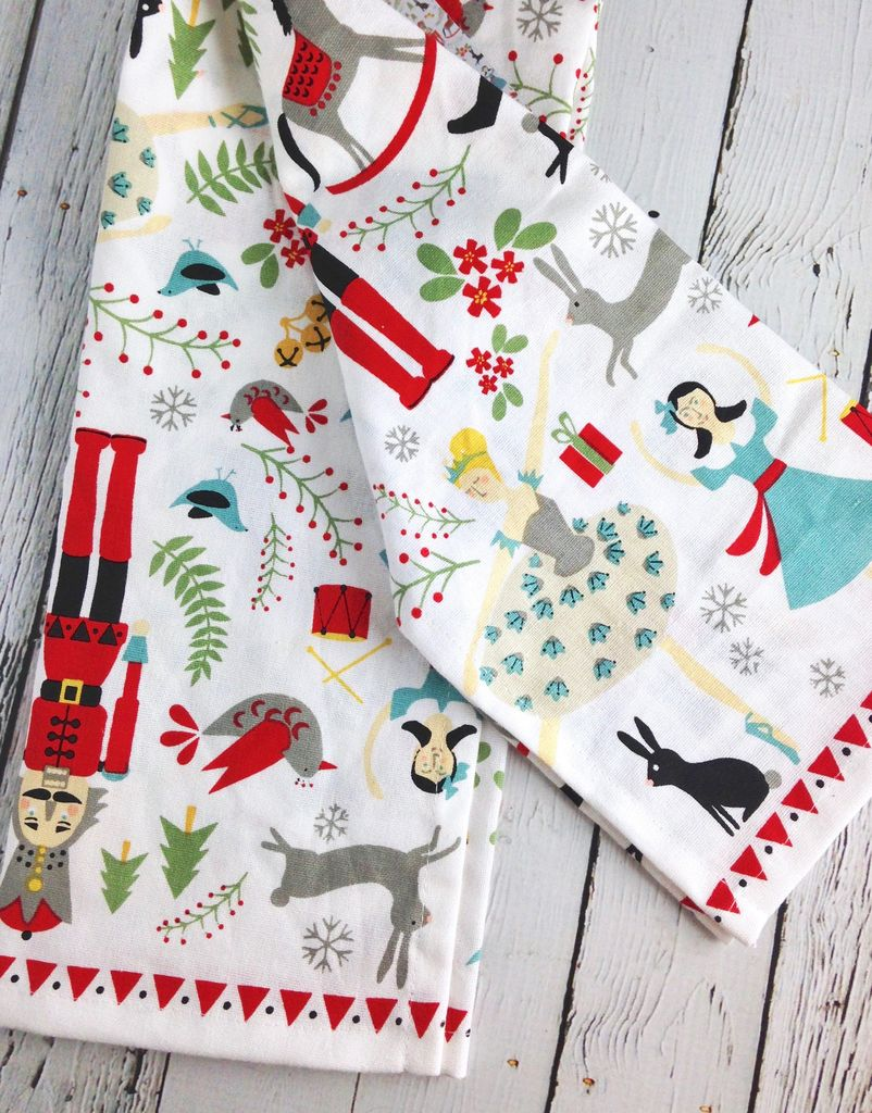 Nutcracker Dish Towel