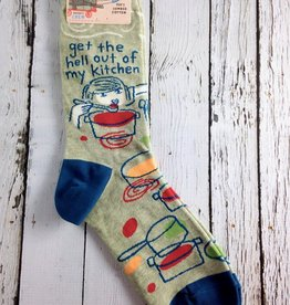 Get The Hell Out Crew Socks