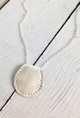 Handmade Silver Saddle Necklace