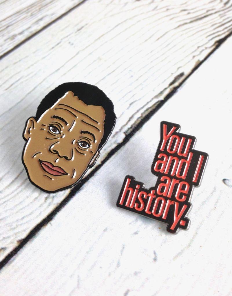 James Baldwin Enamel Pin