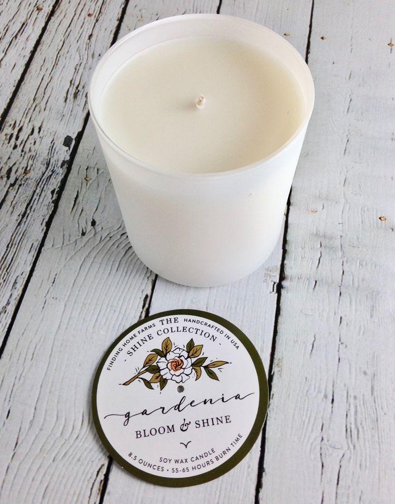 Gardenia 10 oz Soy Candle