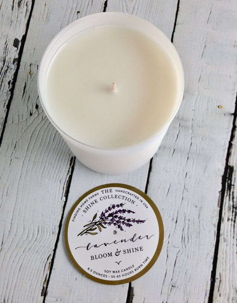 Lavender 8.5 oz Soy Candle
